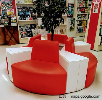 本が読める椅子