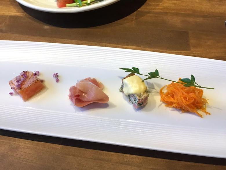 migitohidari 前菜