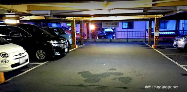 みろく温泉 駐車場