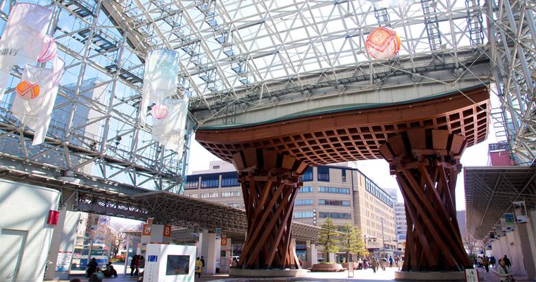 北陸新幹線が開通した金沢