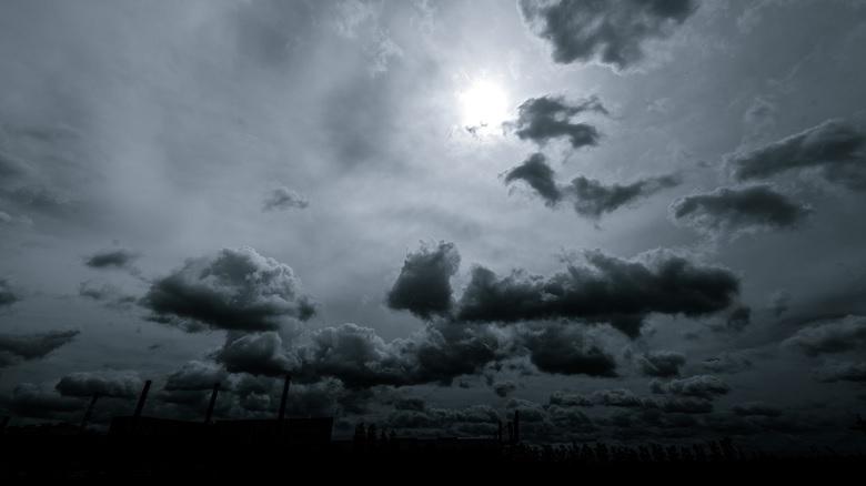 金沢 曇り空