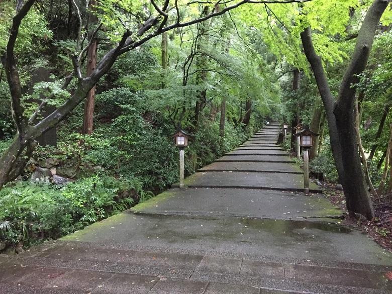 白山比咩神社  参道
